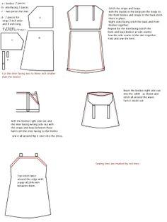 Sew Simple Dress: Pinafore /jumper