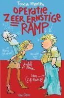 Recensie van Myrthe over Tosca Menten - Operatie Zeer Ernstige Ramp (2e recensie) | http://www.ikvindlezenleuk.nl/2015/08/tosca-menten-operatie-zeer-ernstige-ramp-2e-recensie/