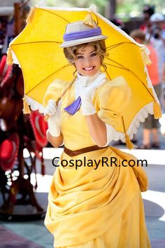 Jane costume yellow outfit for adult plus size – Cosplayrr Belle Blue Dress Costume, Red Costume, Cosplay Costumes, Cosplay Ideas, Costume Ideas, Alice Cosplay, Disney Cosplay, Disney Costumes, Tarzan