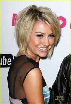 Chelsea Kane's cute stacked haircut