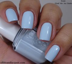 Essie 2014 Find Me an Oasis.....This color gives me LIFE!