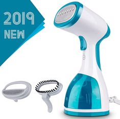 Portable Clothes Steamer Travel Steamer for Clothes Easy to Use for Vertical /& Horizontal Ironing Mini Size /& Lightweight for Most Fabric Removable Brush Included marsboy Safe with Anti Drip Design