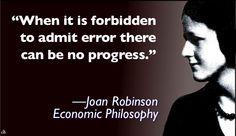 Joan Robinson - Economic Philosophy