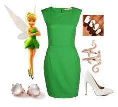 """Tinkerbell"" by kellie-500 ❤ liked on Polyvore"