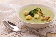 Vellutata di broccoli Soup Recipes, Vegetarian Recipes, Healthy Recipes, Cooking Master Chef, Fett, Finger Foods, Italian Recipes, Meal Planning, Food Porn