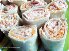Easy Salsa Roll Up Recipe from Kraft Foods **melt cheese in tortillas to warm it with cool salsa filling