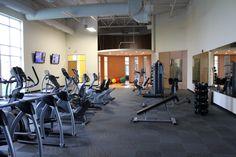 Free weights and machine equipment too!