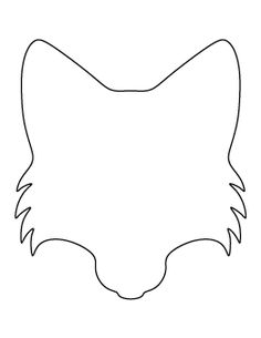 Turkey head pattern use the printable outline for crafts creating fox face pattern maxwellsz