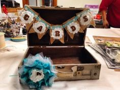 Card Suitcase @ Speckled Feather Mercantile