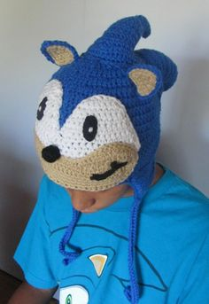 Knuckles the Echidna Fan Art Hat, made to order in all sizes