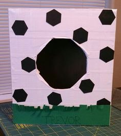 soccer ball valentine box