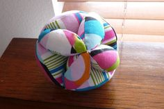 Baby grab ball toy tutorial