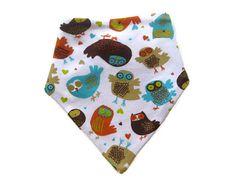 Reversible bib / scarf / bandana bib for cool kids by Engls
