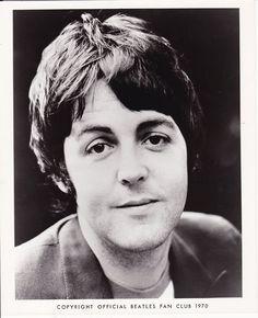 Paul McCartney in 1970