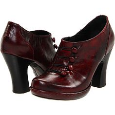 Burgundy Hetty pumps by Born. $165 from Zappos.