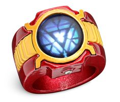 $40 off Marvel Iron Man 3 LED Arc Reactor Ring --making it just $9.99 @ ThinkGeek - HotDeals For the hottest deals daily, check us out at www.hotdeals.com or on FB! www.facebook.com/hotdealscom