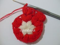 StitchLand : 01.10.2012 - 01.11.2012 Crochet Stitches, Crochet Hats, Raspberry, Crochet Necklace, Projects To Try, Christmas Ornaments, Holiday Decor, Accessories, Tutorials