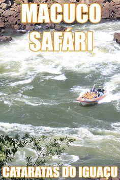 Macuco Safári, passeio de barco nas Cataratas do Iguaçu, em Foz do Iguaçu - Paraná, Brasil.
