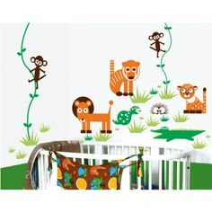MyVinilo King Of The Jungle Wall Decal