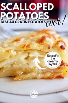 These Gruyere Potatoes Au Gratin are gluten free and stop you in your tracks delicious, they are the BEST! The perfect holiday side dish! Recipe via Potatoes Au Gratin, Cheesy Potatoes, Sliced Potatoes, Mashed Potatoes, Vegetarian Sweets, Vegetarian Recipes, Holiday Side Dishes, My Best Recipe, Stick Of Butter