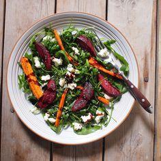 Laskominy od Maryny: červená řepa Seaweed Salad, Grill Pan, Grilling, Beef, Ethnic Recipes, Fit, Kitchen, Griddle Pan, Meat