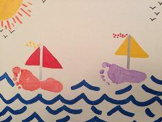 Footprint sailboat