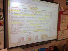 Little Bird Kindergarten Blog Post: Call me cuh-ray-zee! Close Reading on the 8th day of Kindergarten!