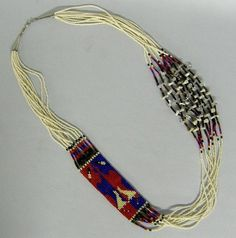 Apache 10 Strand Loom Bead Necklace