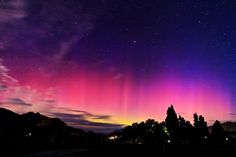 Southern Lights - Queenstown, New Zealand