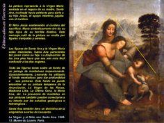 Resultado de imagen para leonardo da vinci santa ana la virgen y el niño