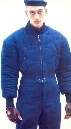 Collection for riu : Photo Workwear Fashion, Ski Fashion, Blue Fashion, High Fashion, Preppy Handbook, Winter Suit, Fall Winter, Modern Mens Fashion, Mens Activewear