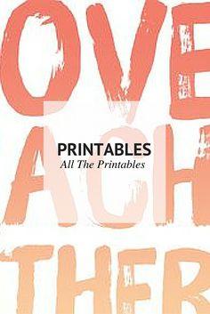 All The Printable