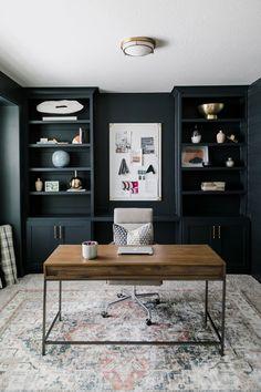 Home Room Design, Dream Home Design, Home Office Design, Home Interior Design, House Design, Modern Interior, Home Office Setup, Home Office Space, Office Inspo
