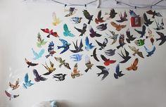 Image via We Heart It #beautiful #bird #birds #blackbird #colores #colors #cool…