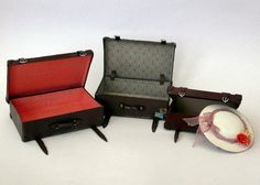 Amber's House: 1:12 scale opening Suitcase tutorial Part 1 - very thorough tutorial lots of pictures