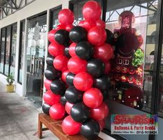 Congratulations The Meating Place Korean BBQ Grill on your 1st Anniversary. This the Meatiest Place you'll ever be. Visit them at Riverside Drive, near SM East Ortigas. Image: ctto Korean Bbq Grill, Balloon Pillars, Riverside Drive, Party Needs, 1st Anniversary, Congratulations, Balloons, Store, Image