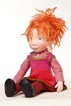 Bess  Handmade cloth doll  by AldegondeCeelen