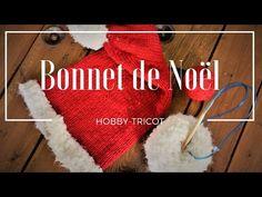 DIY - TRICOTER UN BONNET DE NOËL - NIVEAU DEBUTANT - YouTube