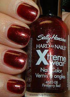 Sally Hansen Fireberry Red