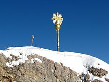 Zugspitze - Summit cross