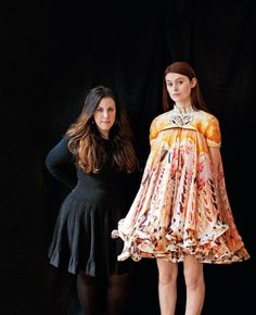 Mary Katrantzou...There aren't many young fashion designers who can sell £30,000-a-pop dresses straight off the catwalk.