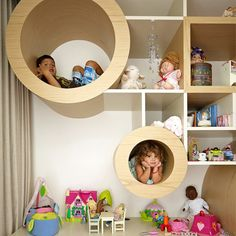 Here's one stylish way to organise the kids… with a little help from Australian architect firm, MPR Design Group.