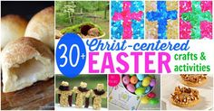 Check out these Christ-centered Easter Activities and Crafts to help make the story of Jesus' death and resurrection meaningful and memorable to your child.