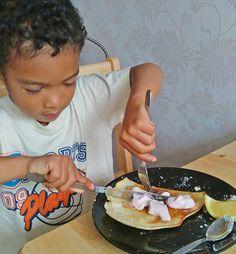 No Butter Homemade Pancakes