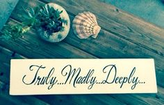 Distressed/Aged Wood Signs by BorboletaDecors on Etsy