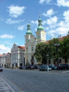 Hradec Králové (East Bohemia), Czechia Bohemia People, Central Europe, Czech Republic, Hungary, Germany, Street View, Group, City, Places