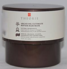 Theorie Argan Oil Ultimate Repair Hair Mask 16.8 Fl Oz. *** You can get more details by clicking on the image.