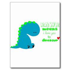 Cute Dinosaur RAWR