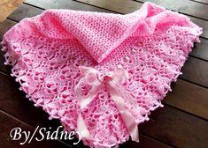 Olá pessoal, estou super feliz, consegui crochetar esta manta para minha neta é a primeira vez que faço uma manta em crochet, sempre fiz em...