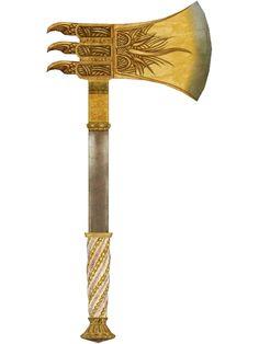 Golden War Axe